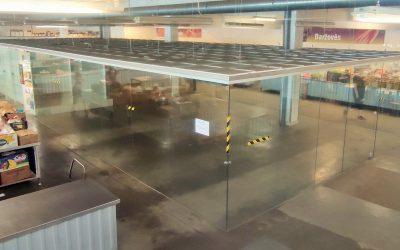Išnuomojamos 63 kv/m patalpos daržovių paviljone